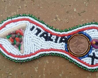 La mia Italia-OOAK Bracelet