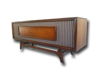Zenith Mid Century Modern Stereo Console All Upgraded