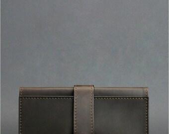 Brown leather wallet Brown phone wallet Brown leather phone wallet Thin cash wallet Brown leather cash wallet Brown leather  womens wallet