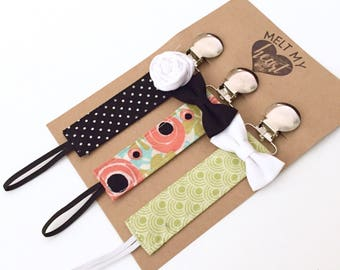 Pacifier Clips - Adriana Collection