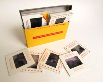 1960s Kodachrome Color Slides Snapshots Asian Family Photos