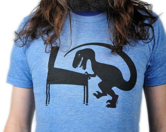 Dinosaur Playing Pinball T shirt