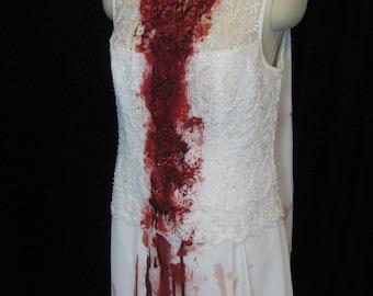 Zombie dress (medium), Vampire Dress, Halloween, costume, blood, apocalypse, bride, corpse, wedding, living dead, walking dead, undead