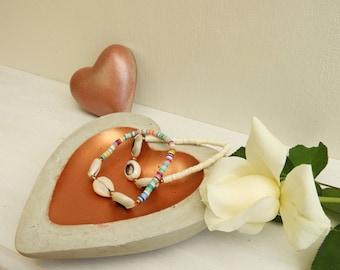 Copper concrete - box jewelry case ring-concrete box bracelet copper concrete - gift idea - for her