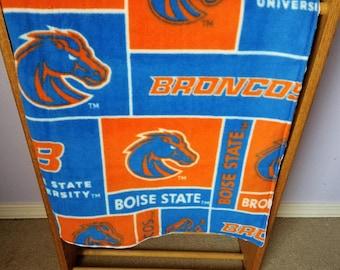 Boise State Crib Blanket                                 (Free Shipping)