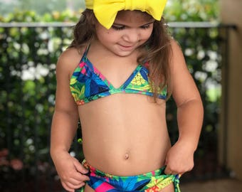 Summer Pineapple Bikini - Baby Toddler Swimwear Bathing Suit