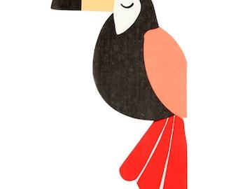 Jungle Toucan Paper Napkins/ Jungle Toucan Napkins/ Jungle Party Napkins/ Luau Napkins/  sc 1 st  Etsy & Jungle party plates | Etsy