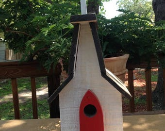Chapel in the Woods a birdhouse by Sniffwhiskers