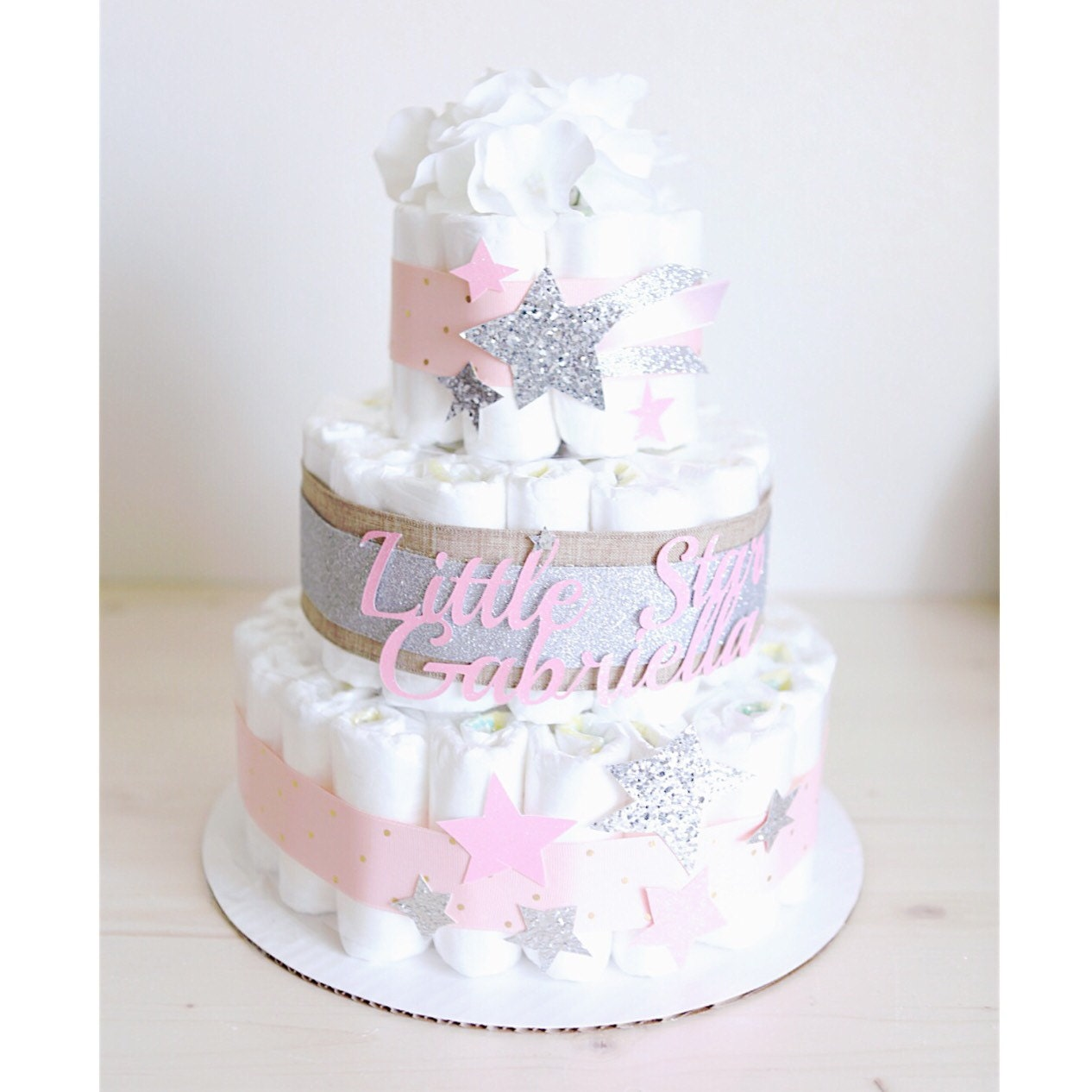 Baby Shower  Tier Twinkle Twinkle Little Star Cakes