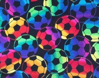 Soccer Balls Bright Colors 1.5 yards