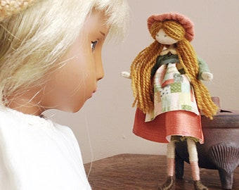 MEREDITH dolls house doll making sewing KIT / Doll for Sasha / by Verity Hope