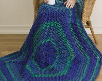 Mega Motif Throw - Crochet Pattern