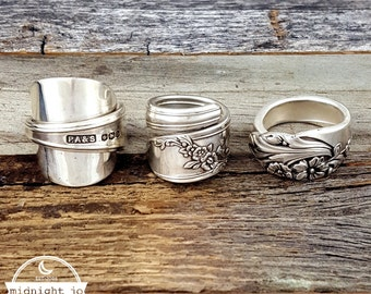 CUSTOM MADE Make a Spoon Ring From YOUR Spoon