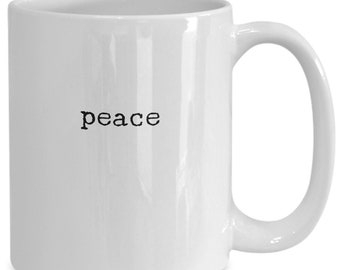 The fruit of the spirit is peace - expression mug