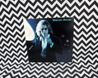 Warren Zevon - Self Titled - Vintage Vinyl LP Record Album. 1976 First Pressing Asylum Records. Classic 70s Rock. Warren Zevon Debut