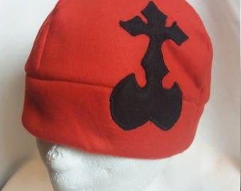 Kingdom hearts inspired fleece hat/beanie video games