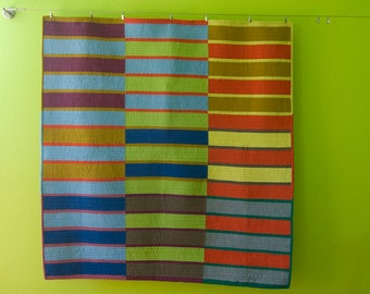 Strips and Stripes Quilt