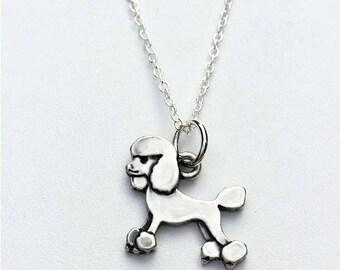 Poodle Charm Necklace