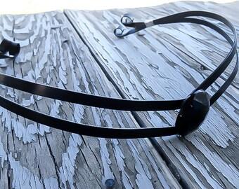 Black Tiara, Medieval Crown - Renaissance Tiara - Elven Crown - Black Crown - Costume Tiara - Elven Headpiece - Medieval Tiara