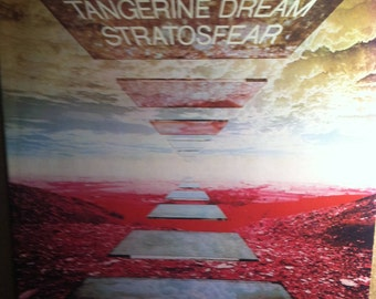 Tangerine Dream Stratosfear Electronic Music Record