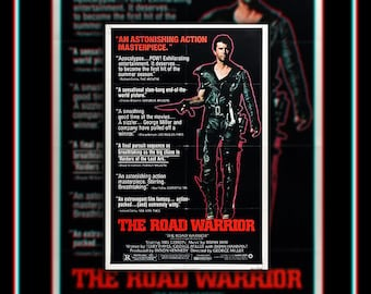 MAD MAX 2 Style B (1982) Georges Miller Very Rare 27x40 Fold US One Sheet Movie Poster Original Vintage Collectible