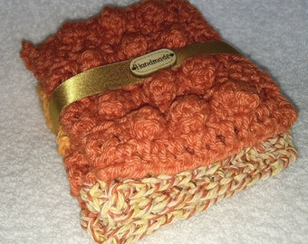 Gift Set - Washcloth and Bubbly Soap Case - Assorted Colors