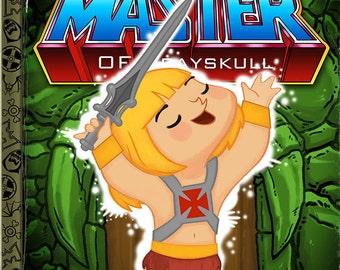 The Little Master of Grayskull - 8x10 PRINT