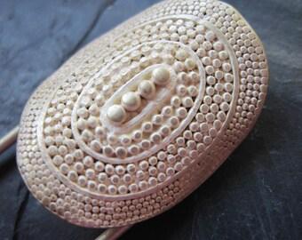 Tuchnadel silver, Kiltnadel silver, cloth clasp, Ponchonadel, scarf needle, towel clasp, pin, brooch