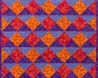 Quarter Turn Quilt Pattern by Seams Like A Dream - Paper Printed Pattern