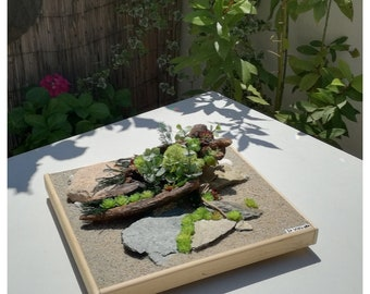Zen Garden Yoga Gifts Zen Decor Japanese Garden mini sand Garden Garden Zen Meditation Yoga maditation Box