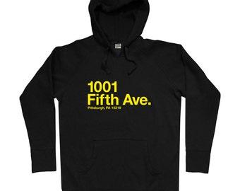 Pittsburgh Hockey Stadium Hoodie - Men S M L XL 2x 3x - Pennsylvania Hoody, Sweatshirt, Sports, Arena, Fan, Gift - 3 Colors