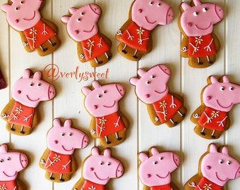 Cookies peppa pig.