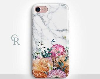 Floral iPhone 8 Plus Case For iPhone 8 iPhone 8 Plus - iPhone X - iPhone 7 Plus - iPhone 6 - iPhone 6S - iPhone SE - Samsung S8 - iPhone 5