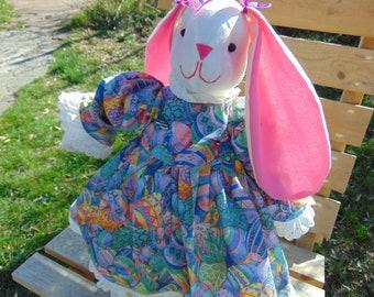 Shelly the Stuffed Bunny Rabbit Doll