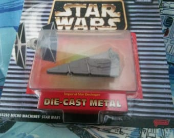 Star Wars Micro Machine Vintage 1995 Imperial Star Destroyer NIB