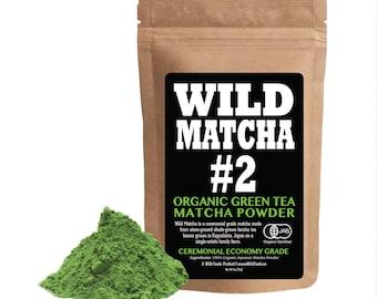 Wild Matcha #2 Ceremonial Grade Green Tea Matcha From Japan - Organic