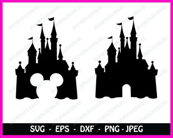 Disney castle svg, mickey mouse svg, mickey ears svg, disney svg, minnie svg, minnie ears svg,svg file for cricut,silhouette, svg files, svg