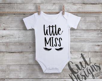 Little Miss Infant Bodysuit, Little Miss Newborn Onez, Infant Girls One Piece
