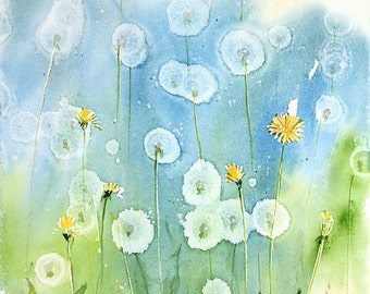 Fresh Pick No.415, limited edition of 50 fine art giclee prints from my original watercolor