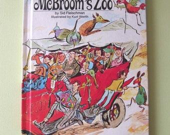 McBroom's Zoo by Sid Fleischman - Vintage Childrens Book c. 1972