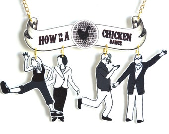 Arrested Development - 'How to do a Chicken Dance' Necklace