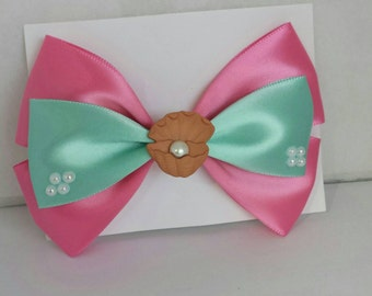 Clam & Pearl bow