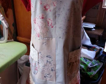 Patchwork Full-Size Apron