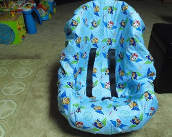 Paw Patrol Blue Toddler Car Seat Cover Not Included