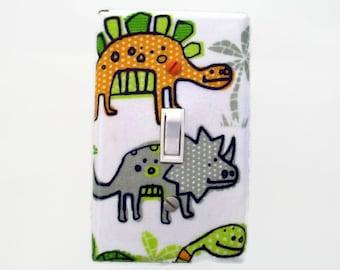 Kids Light Switch Plate - Dinosaur Switch Plate Cover - Boys Nursery Decor