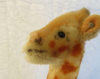 Steiff Mohair Giraffe