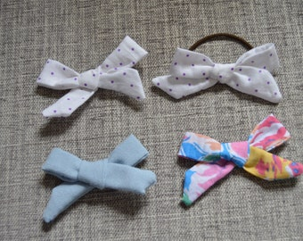 Fabric pretty bow