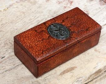 Stylish box, wooden box, chinese dragon, custom box, keepsake box, casket, chest, dragon, carved stone, feng shui, chinese ornament
