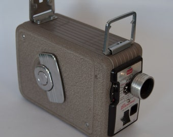 Kodak Brownie II 8mm Movie Camera and case