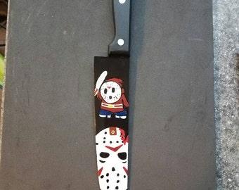 Shy guy Voorhees knife